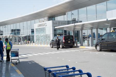 gcc: ABU DHABI - FEBRUARY 13: Abu Dhabi International Airport. February 13, 2016 in Abu Dhabi, United Arab Emirates