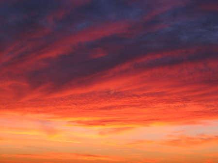 Painted sky Stok Fotoğraf