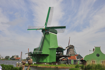 converts: Windmill A windmill is a mill that converts the energy of wind into rotational energy by means of vanes called sails or blades. Centuries ago, windmills usually were used to mill grain, pump water, or both.