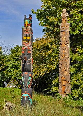 Totem Stock Photo