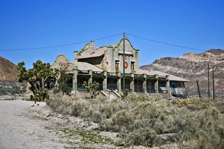 Old building in Death valley