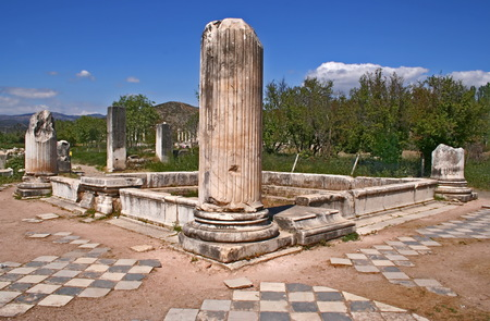 Aphrodisias ancient city. Aphrodisias is one of the oldest sacred sites in Turkey. Dedicated to the ancient Mother Goddess and then the Greek goddess Aphrodite, it was the site of a magnificent Temple of Aphrodite and the home of a renowned school of marb
