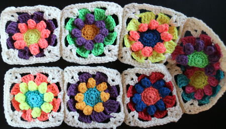 Crochet sample