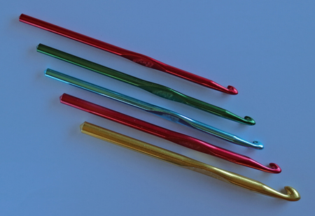 Crochet needle in different size