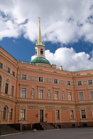 inner yard of the mihailovsky castle, saint-petersburg, russia Stock Photo - 1665448