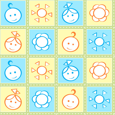 pastel colours: Beb� puntadas sin patr�n en colores pastel