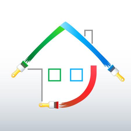 Home decoration symbol Stock Vector - 3876479