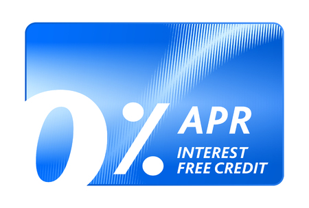 prepaid: Credit free abstract card for shopping