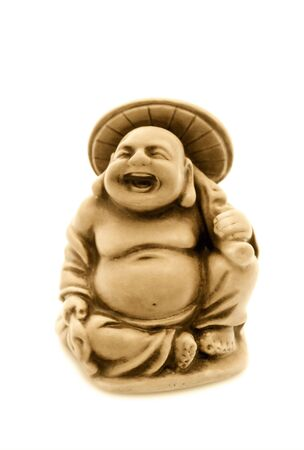 Hotei is one of Seven Lucky Japan Gods - God of Contentment & Happiness Stock Photo - 5003732