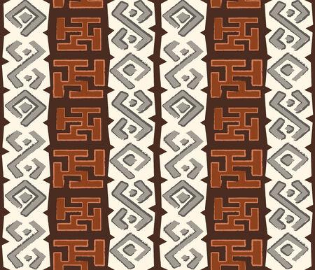 aborigine: Patr�n de transparente Africana en estilo grungy nativo