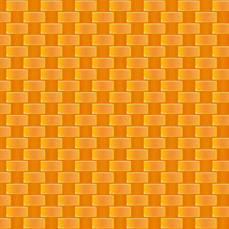 weaving: Seamless cane weaving pattern in warm colors