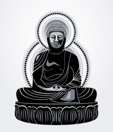 meaning: Buda Amitabha (el Buda de la luz infinita)
