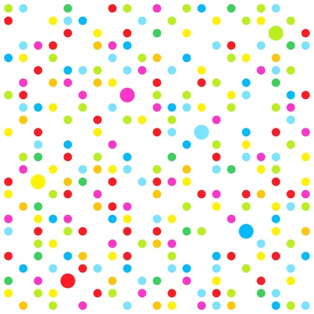 Seamless dots pattern Stock Vector - 9659906