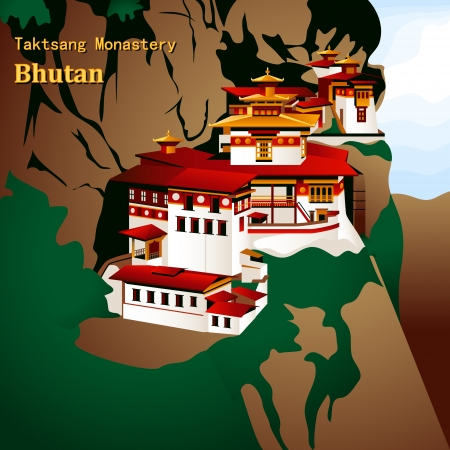 himalaya: Taktsang Palphug or Tiger Nest Monastery