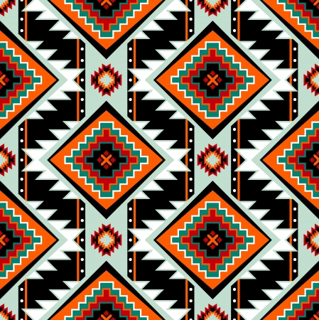 Traditional First nations clothing seamless pattern Vector