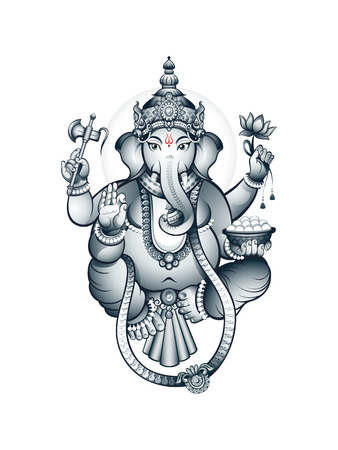 hinduism: Hindu elephant-head deity Ganesha, the patron of arts and sciences