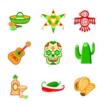 다채로운 문화 기호, 음식과 멕시코의 객체