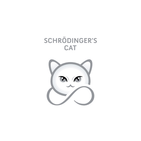 Schrodingers cat - a popular science theory character