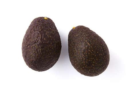 Avocado isolated on a white background. photo