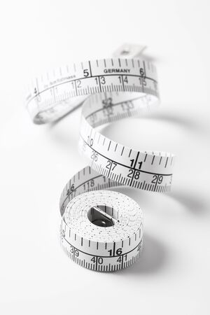 mm: Tape measure Stock Photo