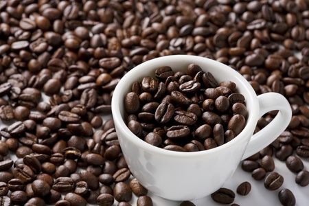 Cup of Coffee Beans photo