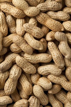 cacahuate: Close-up de unos cacahuetes. fondo Foto de archivo