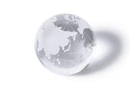 weltkugel asien: Glaskugel