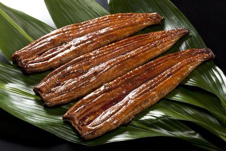 japanese food roast eel ( unagi ) with photo