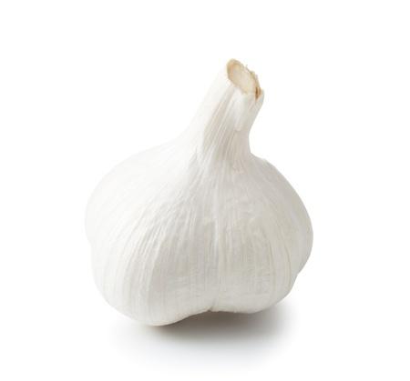 Garlic isolated on white background. Stock Photo - 10914675