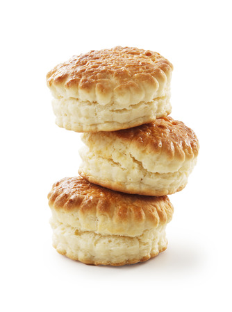 scones on a white background 版權商用圖片 - 66128467