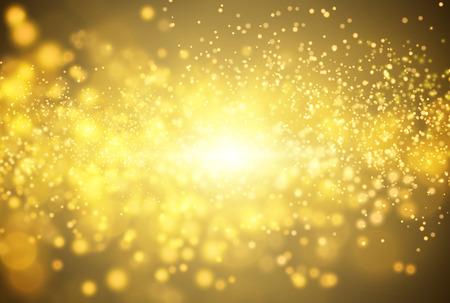 Golden glitter vector background. EPS10