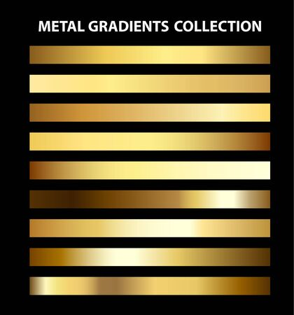 Trendy UI metal gradients collection. Easy to use.