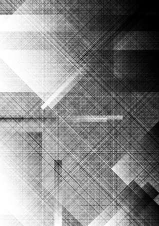 Monochrome textural background  Vector