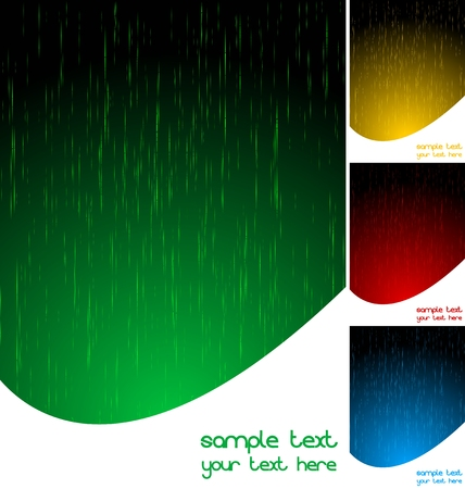 Set of abstract vertical backgrounds  Stock Vector - 6950614