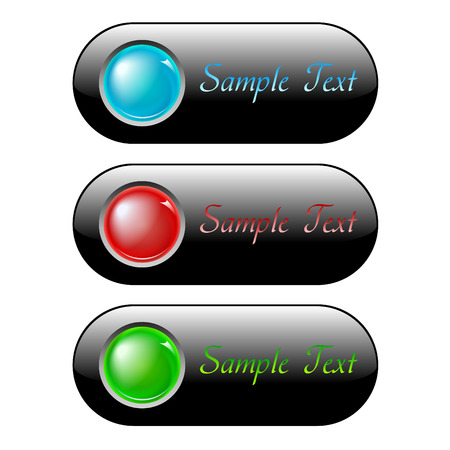 illustration of internet buttons Stock Vector - 7711869