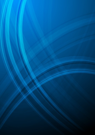 blue gradient background: Dark abstract background with waves