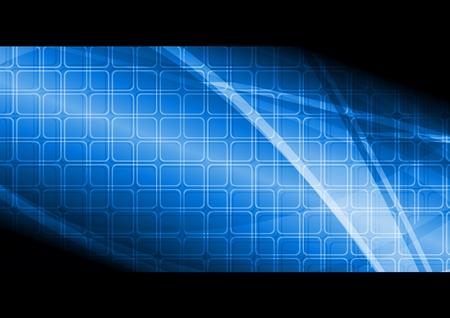 Beautiful hi-tech banner. illustration Stock Vector - 8984338