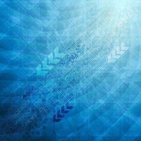 backdrop: Blue hi-tech backdrop. Vector eps 10