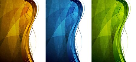 eps 10: Abstract technical banners. Vector illustration eps 10