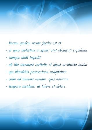 Stylish business template. Eps 10 vector illustration
