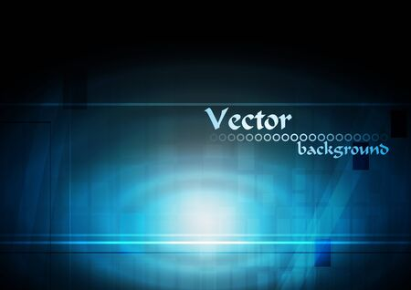 Vector background of stylish tech abstraction. Eps 10 Vector