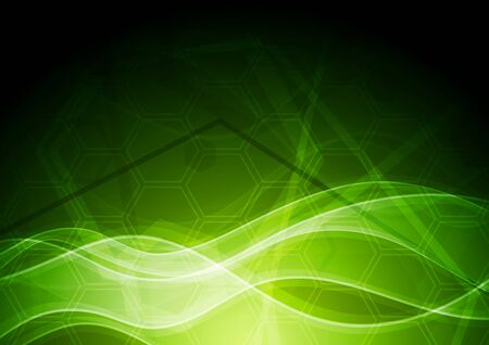 Vibrant abstract background with tech texture Vector