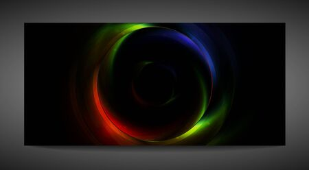 iridescent: Abstract iridescent vector banner. Eps 10