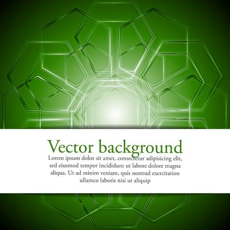 Abstract technical design Stock Vector - 10349293