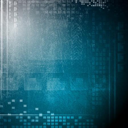 tech: Fondo azul oscuro de alta tecnolog�a.