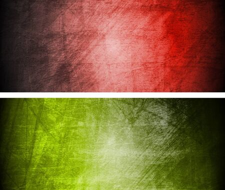 grime: Set of abstract textural banners.