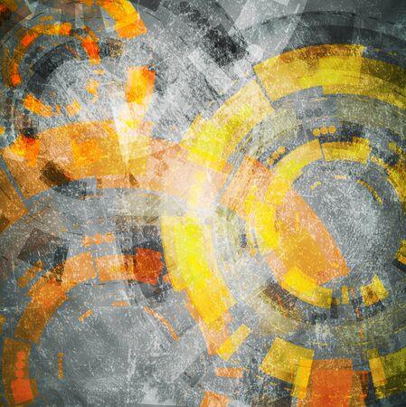 hitech: Grunge hi-tech design. Vector eps 10