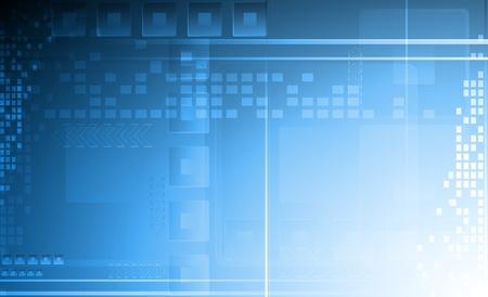 Hi-tech vettore sfondo. Eps 10 illustrazione