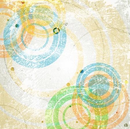 Arrière-plan rétro abstraite. Eps vectoriel 10