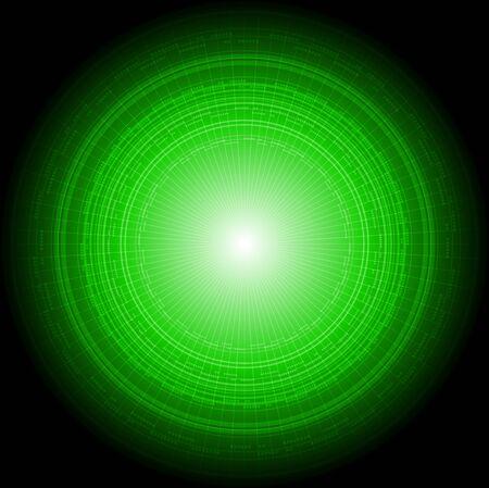 Green technical backdrop. Vector illustration eps 10 Stock Vector - 11263166